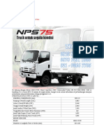 Specifications of Isuzu Elf