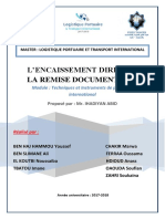 Encaissement Direct Et Remise Documentaire (1)