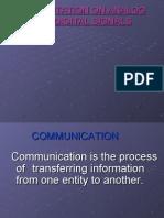 Presentation on Analogue n Digital Signals