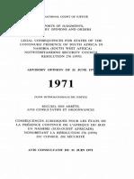 Advisory Opinion on Namibia (1972