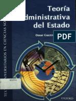Guerrero Omar - Teoría administrativa del Estado