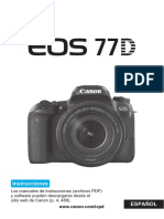 EOS 77D Instruction Manual ES