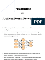 Presentation on Artificial Neural Network (ANN)