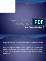 Registro relaciones maxilo-mand ^J Final Exam
