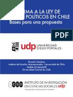 Reforma a La Ley de Partidos Políticos en Chile 1