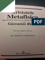 Metafisica -  Giovanni Reale