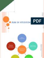 Aim of Studying Ethics