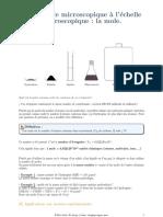 ILEPHYSIQUE Chimie 2 La Mole Echelle Micro Macro (1)