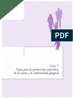 Guía para la protección específica de la caries y la enfermedad gingival 2007