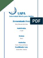 Teoría y Técnica Del Turismo-GREISI-UAPA-Unidad I