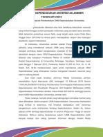 Profil Ukm Kependudukan Universitas Jember