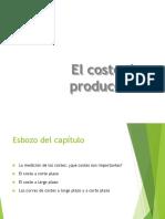 El Costo de Producción