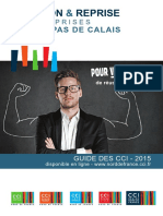 Guide de La Creation Et Reprise en Nord-Pas de Calais