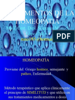 homeopatìa fundamentos