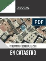 Brochure - Programa de Especialización en Catastro