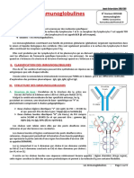Immunoglobulines (3_ Année Médecine)