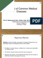 Genetics of Common Diseases