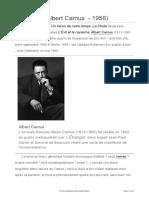 Universalis 2017 La Chute d'Albert Camus