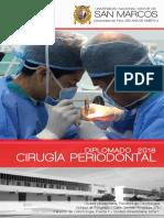 Diplomado Cirugía Periodontal 2018 UNMSM (Convocactoria) - Actualizado