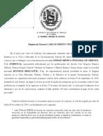 CPC 341 - SCC - Sentencia RH.00190 - Expediente 03-1100 - Regla General en Materia de Admisión de La Demanda - 19122003