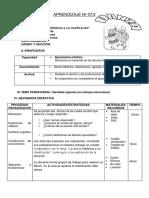 unidad de aprendizaje DANZA FOLKLORICA Y CLASIFICACION.docx