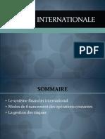 PPT Finance Internationale