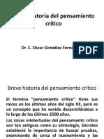 Breve Historia Del Pensamiento Crítico