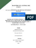 Tesis Sistema de Control Interno y Costos de Servicios en La Asociación de Transportistas de Venta de Materiales de Co_1 (1)
