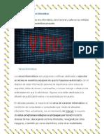 Características de Los Virus Informáticos