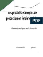 Les Procédés Et Moyens de Production en Fonderie Sable_réduit