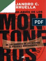El Largo Adios de Montoneros - Alejandro C Tarruella