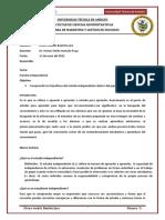 Tecnicas 10 - Estudio Independiente