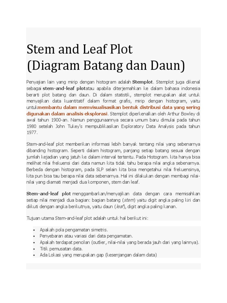 Bahan kuliah steam and leaf plot boxplot ccuart Choice Image