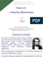 Tema 23.- Productos Bituminosos 2007-2008