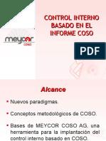 Presentacion Control Interno COSO-ES