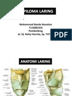 Papiloma Laring- Nanda