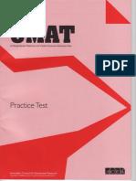 UMAT.practice.test2009