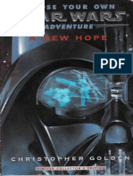Choose Your Own Star Wars Adventure 1 a New Hope