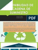 Sostenibilidad de La Cadena de Suministro