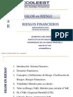 Sistema Financiero  Riesgos
