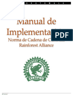 Manual de Implementación de Cadena de Custodia
