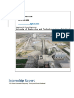 Dg Khan cement-Internship Report