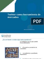 Twitter Mercadeo 2