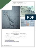 Garay Honor, Daniel- Mapa Precambriano Del Peru