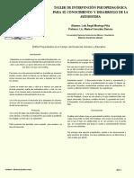 Ejemplo de Cartel en PDF