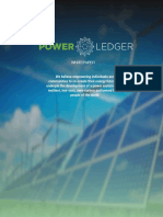 Power Ledger Whitepaper v3