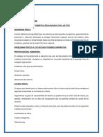 Tarea 3 Unidad II- Investigación Seguridad Física e Informática Relacionada Con Las Tics.
