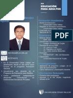 Plantilla Para CV Mauricio Méndez