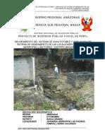 Mejoramiento SAP y Ampl. de Jahuanga, Morropón y Sectores