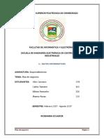 Eprendimiento Plan de Negocios MINI BOTS 2017